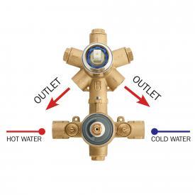 Bossini Inox Unterputz-Einbaukörper für 2-Wege-Thermostat