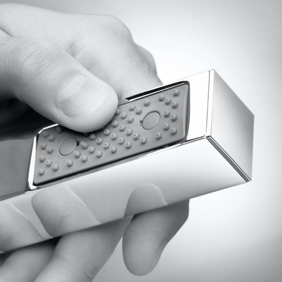 Bossini Black Cube Brauseset mit Schlauchanschluss