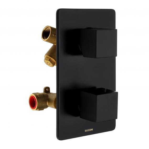 Bossini Black Unterputz-Brausethermostat für 2, 3, 4 oder 5 Verbraucher