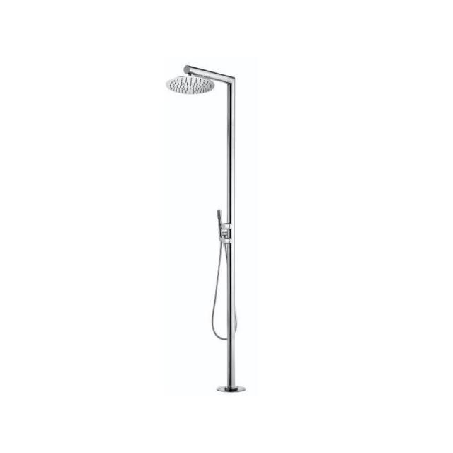 Bossini Nek-Floor Duschsäule für Außenbereich