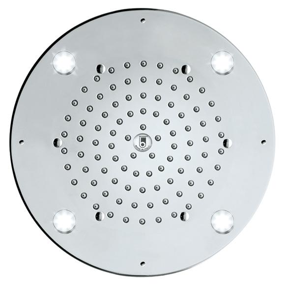 Bossini Oki Flat Kopfbrause Ø 290 mm, mit LED-Beleuchtung