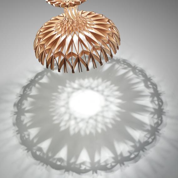 Bover Dome 60 LED Pendelleuchte 1-flammig