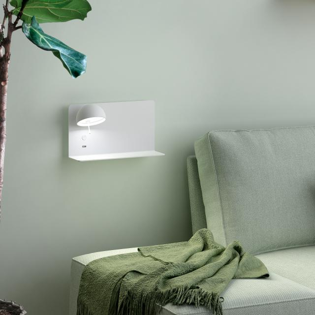 bover Beddy A/03 LED Wandleuchte