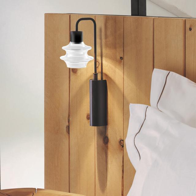 bover Drop A 02 LED Wandleuchte mit Ein-/Ausschalter