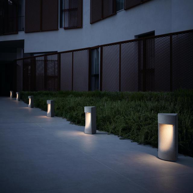 bover Moai LED Sockelleuchte
