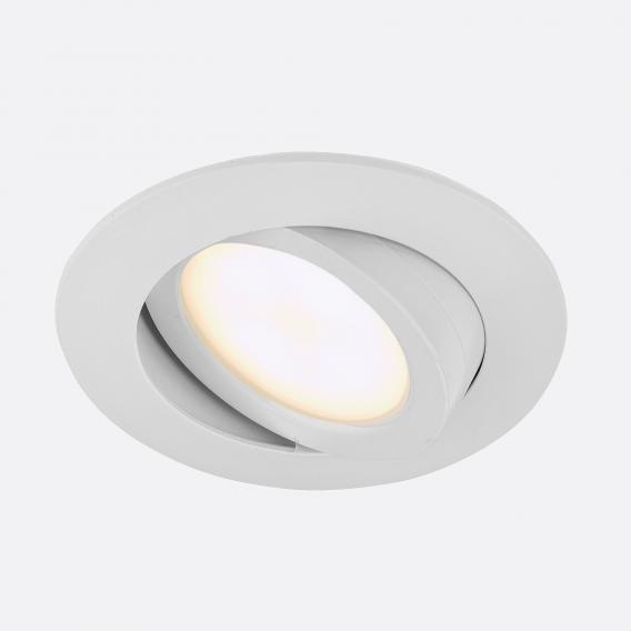 Briloner Attach LED Einbaustrahler rund, schwenkbar