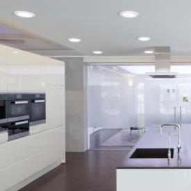 BRUMBERG FLAT30 LED Einbaupanel/Einbaustrahler rund