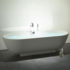 Burgbad Crono 2.0 Freistehende Oval Badewanne weiß
