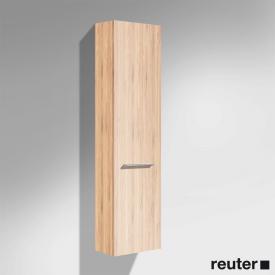 Burgbad Crono Hochschrank mit 1 Tür Front bambus / Korpus bambus