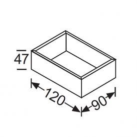 Burgbad Crono Inneneinteilung Holzbox