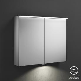 Burgbad Essence Spiegelschrank mit LED-Beleuchtung mit 2 Türen mit Waschtischbeleuchtung