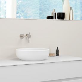 Burgbad RC40 Solitaire Aufsatzwaschtisch weiß matt