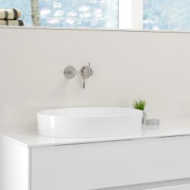 Burgbad RC40 Solitaire Aufsatzwaschtisch weiß