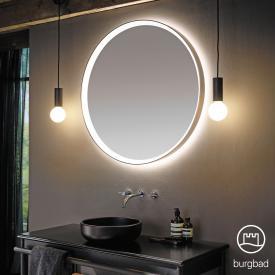 Burgbad Spiegel mit umlaufendem LED-Rahmen