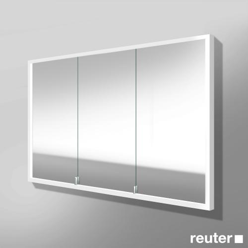 burg crono spiegelschrank mit led beleuchtung f r wandeinbau mit 3 t ren version rechts. Black Bedroom Furniture Sets. Home Design Ideas