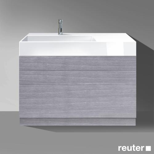 burgbad crono mineralguss waschtisch becken links mwdv121lc0001 reuter. Black Bedroom Furniture Sets. Home Design Ideas