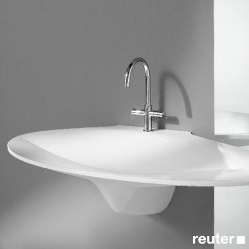 burgbad pli waschtisch skulptur wei seai120lc0001 reuter. Black Bedroom Furniture Sets. Home Design Ideas