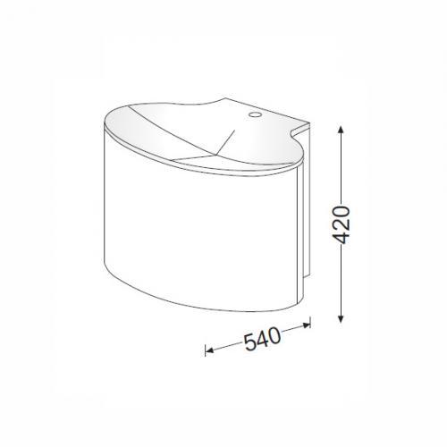 burgbad pli waschtischunterschrank front bambus korpus bambus wt wei seap080f0139c0001. Black Bedroom Furniture Sets. Home Design Ideas