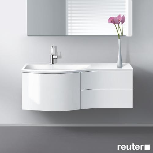 burgbad sinea waschtischunterschrank mit waschtisch 1. Black Bedroom Furniture Sets. Home Design Ideas