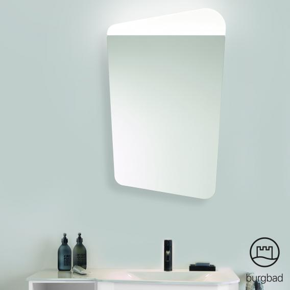 Burgbad Badu Spiegel mit LED-Beleuchtung rechts