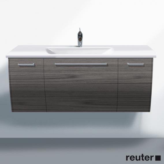 burgbad cala 2 0 waschtischunterschrank mit waschtisch und 3 ausz gen front marone tr ffel dekor. Black Bedroom Furniture Sets. Home Design Ideas