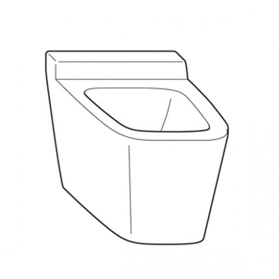 Burgbad Tiefspül-Wand-WC