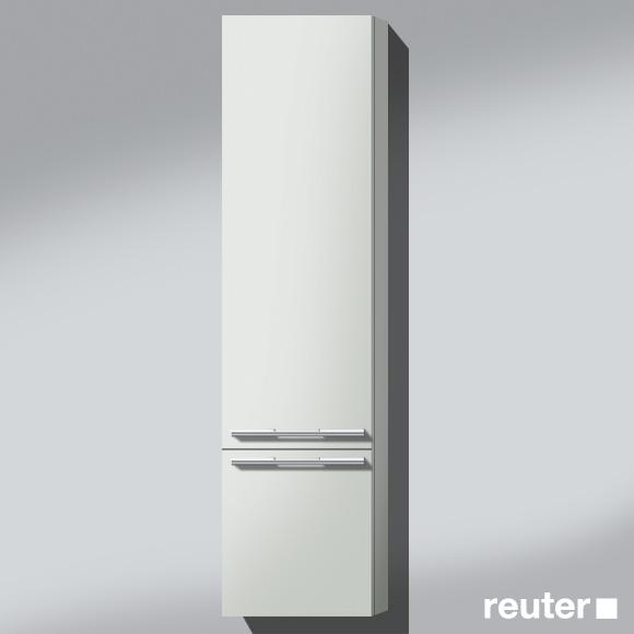Burgbad Bel Hochschrank mit 2 Türen Front weiß matt / Korpus weiß matt