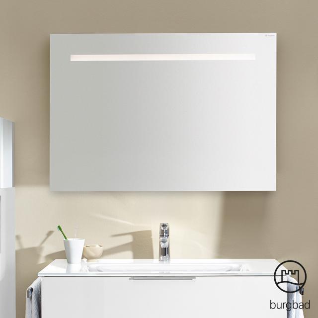 Burgbad Eqio Spiegel mit horizontaler LED-Beleuchtung