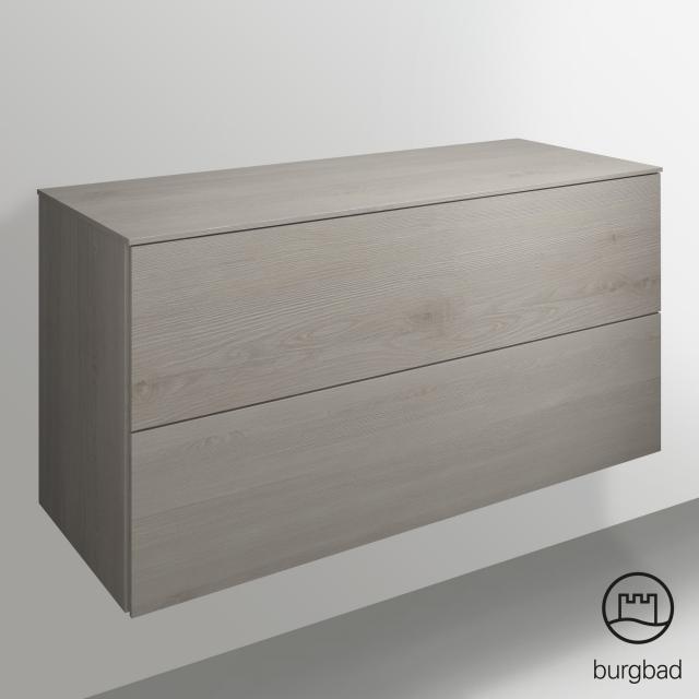 Burgbad Essence Sideboard mit 2 Auszügen Front eiche merino dekor/Korpus eiche merino dekor