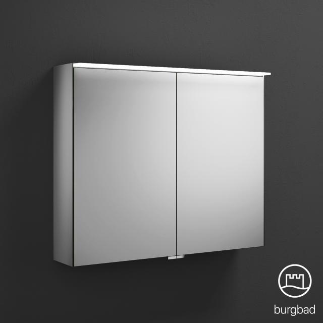 Burgbad Essence Spiegelschrank mit LED-Beleuchtung mit 2 Türen ohne Waschtischbeleuchtung
