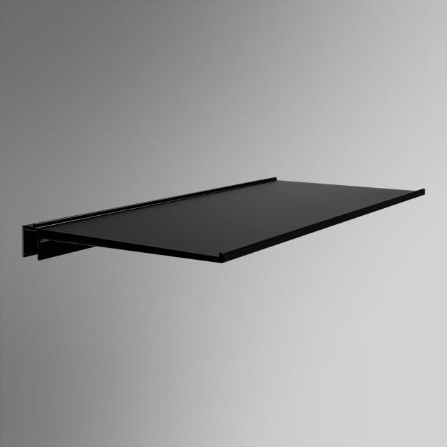 Burgbad Fiumo Ablage für Reling schwarz matt