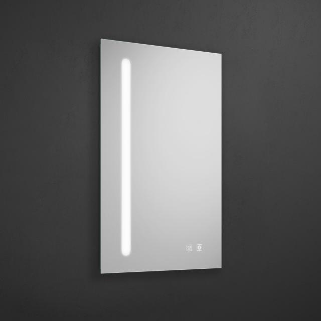 Burgbad Fiumo Leuchtspiegel mit vertikaler LED-Beleuchtung