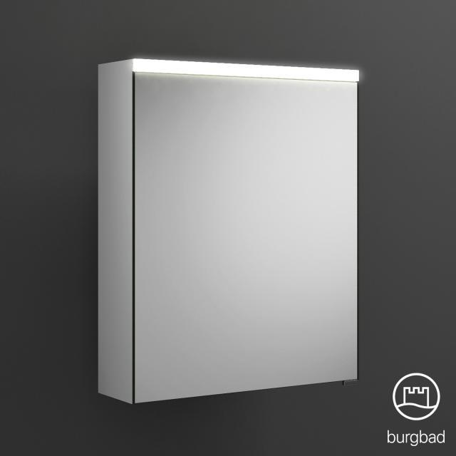 Burgbad Iveo Spiegelschrank mit LED-Beleuchtung mit 1-Tür ohne Waschtischbeleuchtung