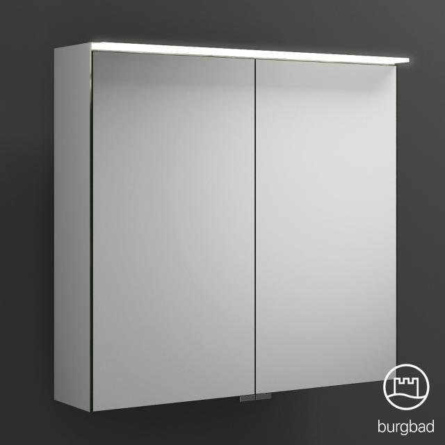 Burgbad Junit Spiegelschrank mit LED-Beleuchtung mit 2 Türen ohne Waschtischbeleuchtung