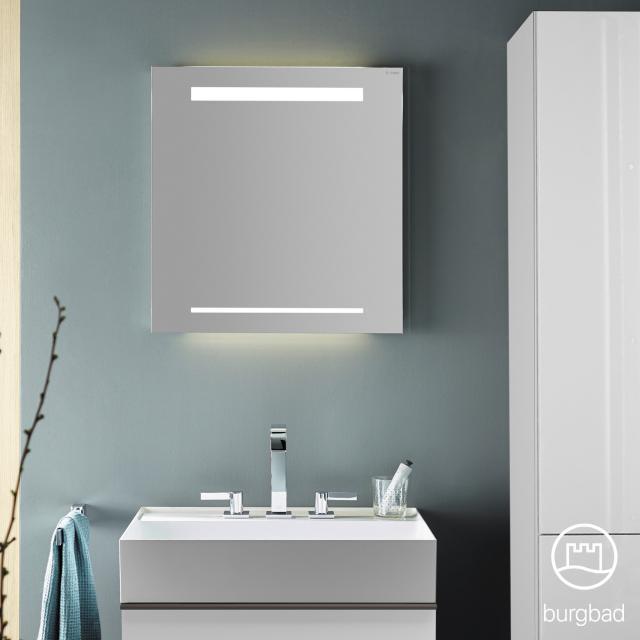 Burgbad Yumo Spiegel mit LED-Beleuchtung