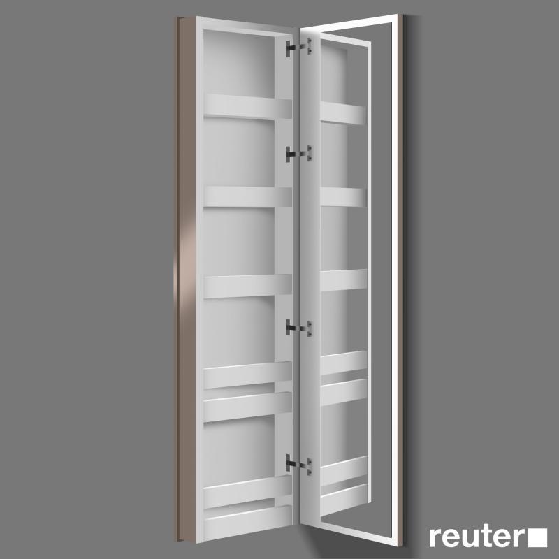 burgbad bel spiegelschrank mit koffert re front schilf hochgl nzend korpus schilf hochgl nzend. Black Bedroom Furniture Sets. Home Design Ideas