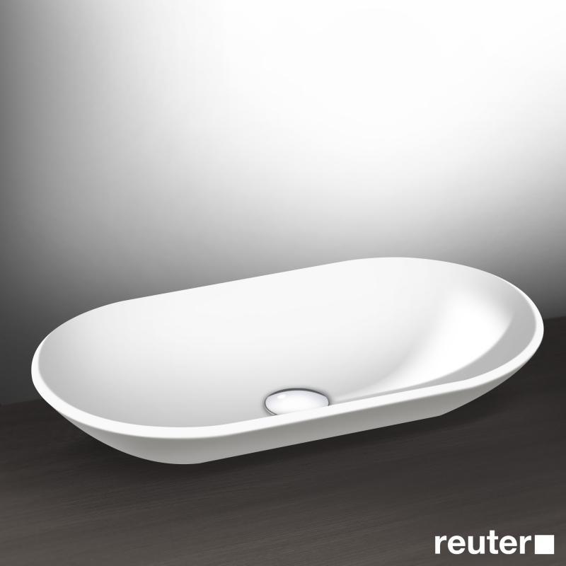 burgbad crono aufsatz waschtisch wei mba0010c0001 reuter. Black Bedroom Furniture Sets. Home Design Ideas