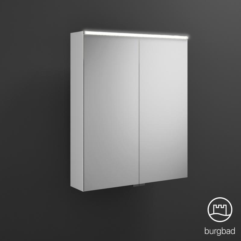 burgbad eqio spiegelschrank mit led beleuchtung wei glanz ohne waschtischbeleuchtung. Black Bedroom Furniture Sets. Home Design Ideas