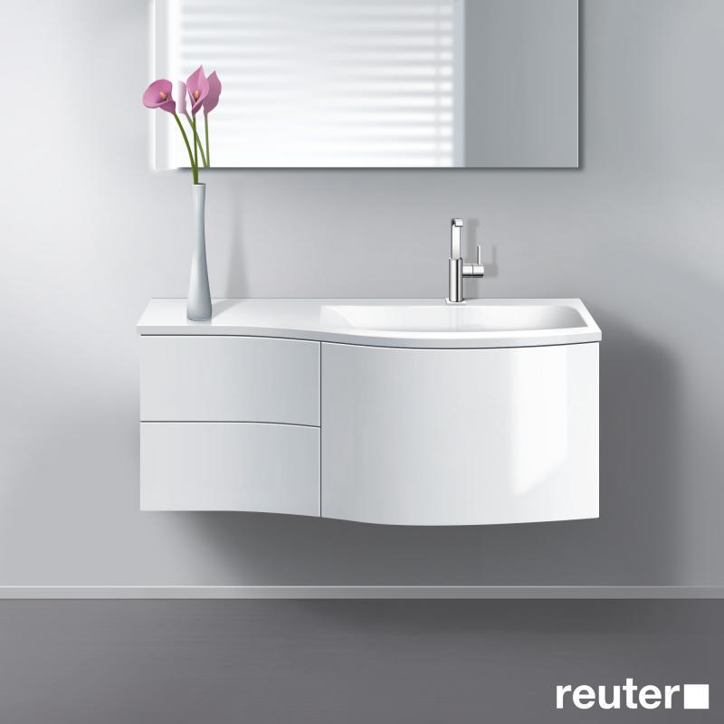 burgbad sinea waschtischunterschrank mit 1 auszug 2. Black Bedroom Furniture Sets. Home Design Ideas