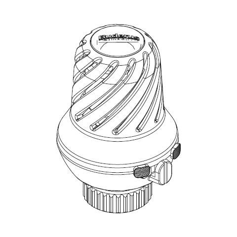 Buderus Logafix-Thermostatkopf BH
