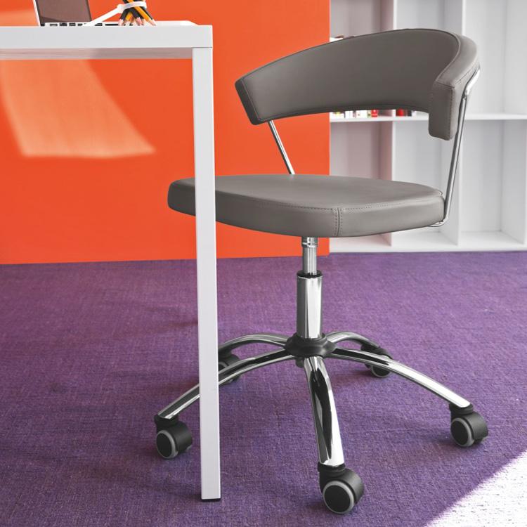 connubia new york stuhl mit rollen cb 624 sk p77 s95 reuter. Black Bedroom Furniture Sets. Home Design Ideas
