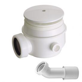 C.G.S. Ablaufgarnitur für Duschwannen mit Ablaufloch Ø 50-60 mm, Komplett-Set