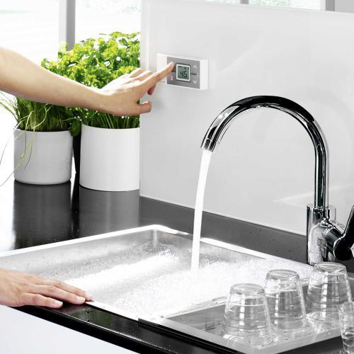 clage durchlauferhitzer elektronisch gesteuert cfx u funktronic mps mit funkfernbedienung. Black Bedroom Furniture Sets. Home Design Ideas