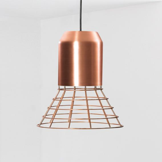 ClassiCon Bell Light Pendelleuchte mit Metallkorb
