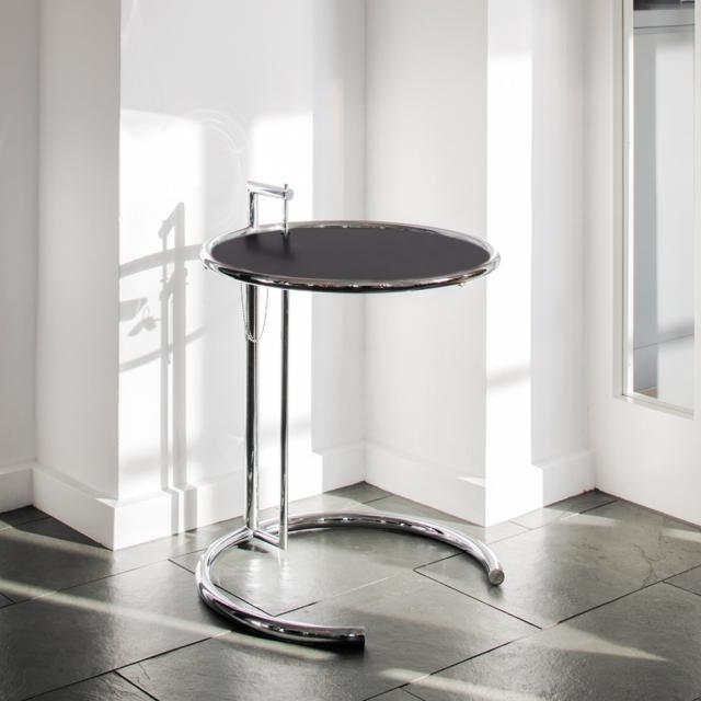 ClassiCon Adjustable Table E 1027 Beistelltisch, Metall