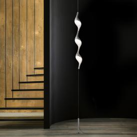Cini & Nils Acqua filo Downlight LED Stehleuchte mit Deckenbefestigung u. Gegengewicht