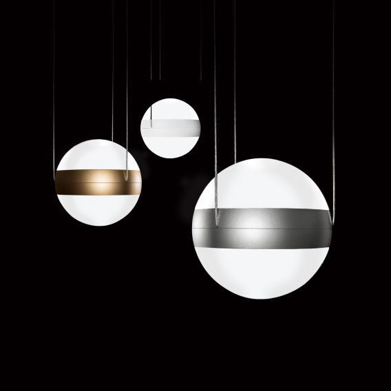Cini&Nils Sferico sospeso LED Pendelleuchte, opalisierend