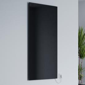 Corpotherma Glas Infrarotheizung schwarz, 800 Watt