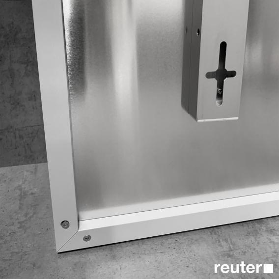 Corpotherma Aluminium Infrarotheizung für Wandmontage, 300 Watt