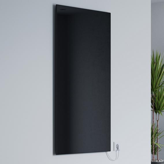 Corpotherma Glas Infrarotheizung schwarz, 600 Watt